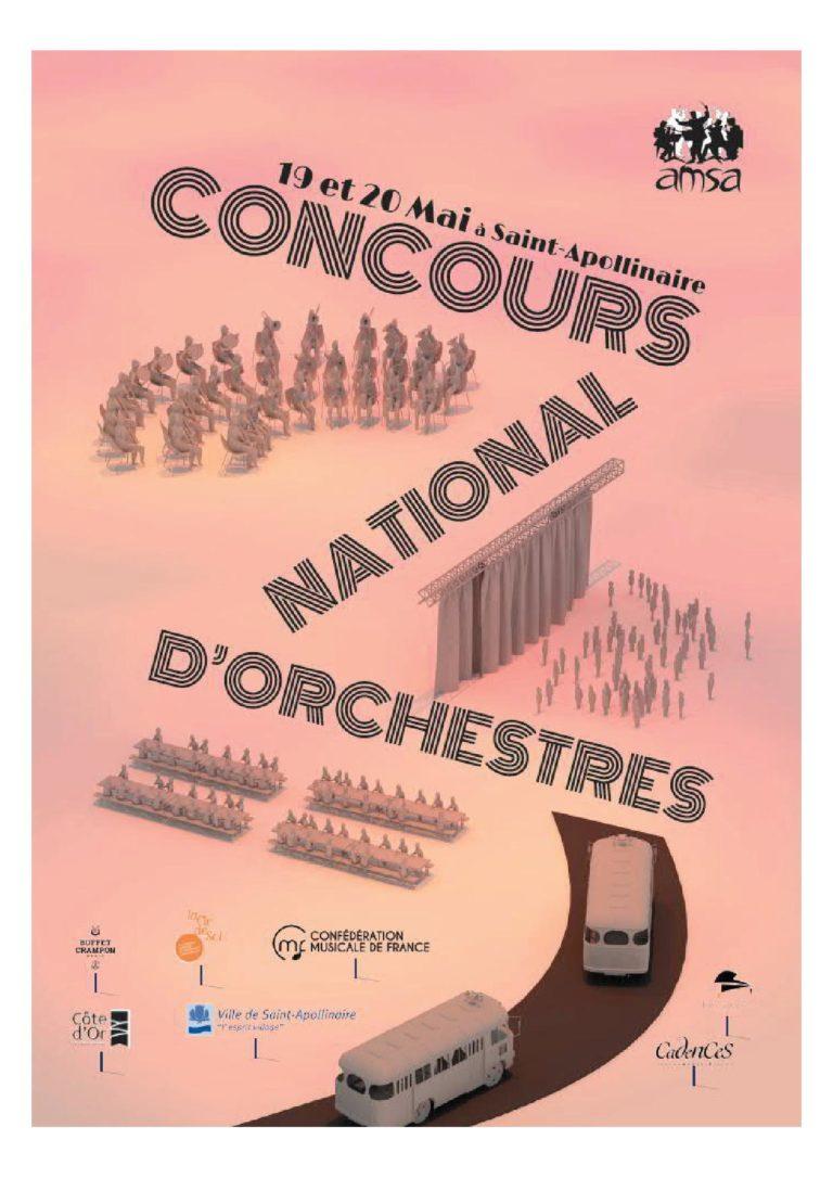 Couverture du programme week-end concnours de la CMF à Saint Apollinaire mai 2018