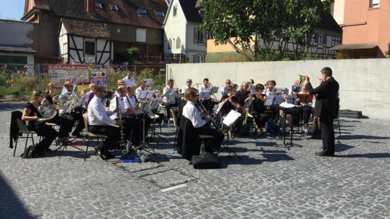 Image de l'orchestre lors du concert pour les Journées Européennes du Patrimoine, Schiltigheim, 15 septembre 2018